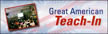 Great American Teach-In